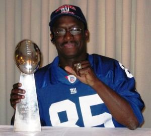 "Stephen ""Touch Down Maker"" Baker, SuperBowl Champion will be at Success Ladder Academy"